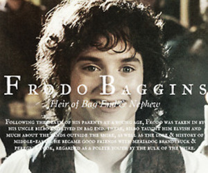 frodo and lord of the rings image