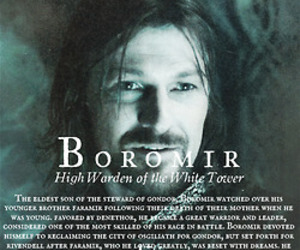 lord of the rings and boromir image
