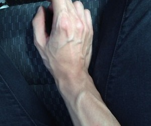veins, boy, and hand image