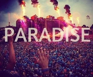 paradise, Tomorrowland, and music image