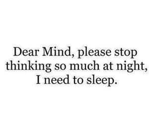 sleep, mind, and quotes image