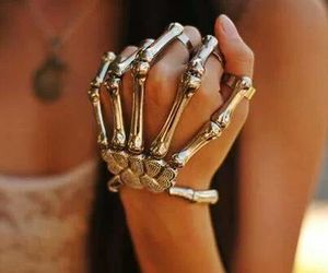 fist, jewelry, and girl image