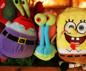spongebob, toys, and cute image