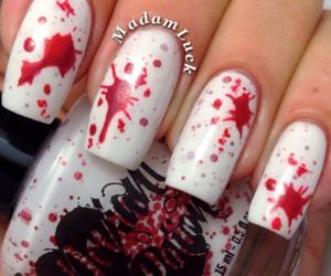 Halloween and nailart image
