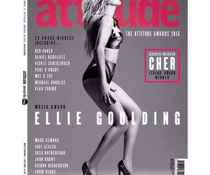 black-white, Ellie Goulding, and gorgeous image