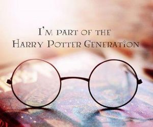 generation, glasses, and harry potter image