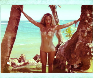 beach, beyonce knowles, and fun image