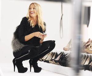 blond, boots, and fashion image