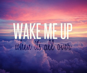 wake me up, avicii, and quote image