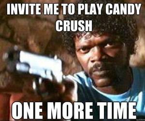funny, candy crush, and invite image