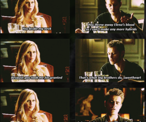 the vampire diaries, paul wesley, and claire holt image