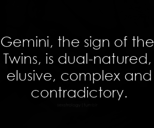 astrology, twins, and complex image