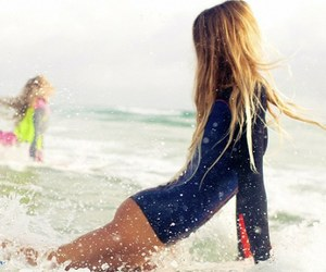 surf, blonde, and girl image