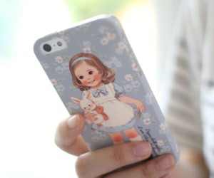 iphone, cute, and paper doll image