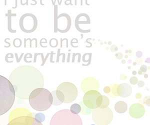 everything, someone, and can't wait image
