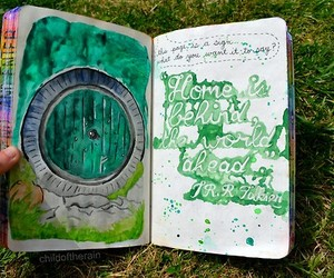 wreck this journal and green image