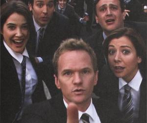 barney, himym, and nph image