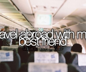 travel, best friends, and abroad image