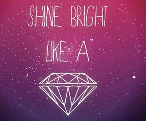 awesome, bright, and diamond image