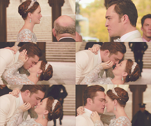 chair, chuck and blair, and happy image