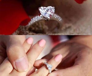 couple, get married, and diamond image