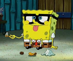 spongebob, funny, and bob esponja image