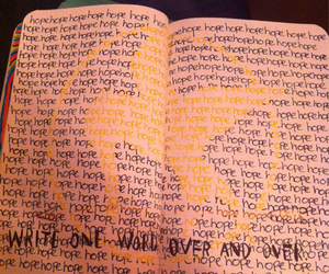 the hunger games, hope, and wreck this journal image
