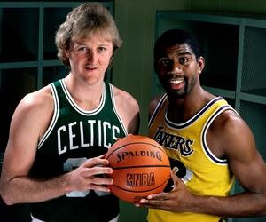 Basketball, NBA, and magic johnson image