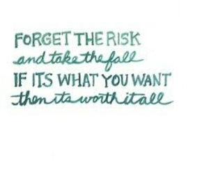 quotes, risk, and life image