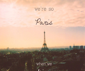 Lyrics, paris, and nobody compares to you image