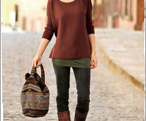 clothes, fall, and hipster image