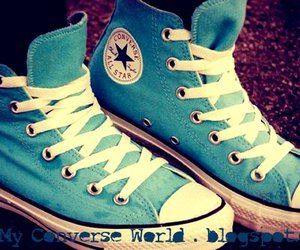 blue, all star, and converse image