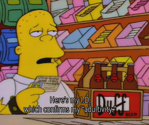 simpsons, Duff, and the simpsons image