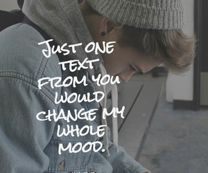 mood, text, and love image