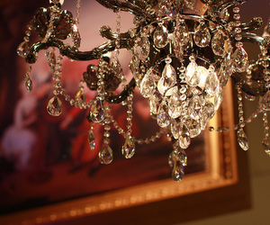 beautiful and chandelier image