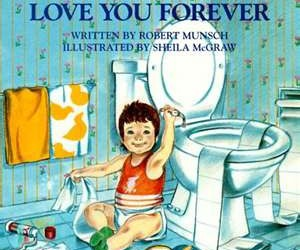book and love you forever image