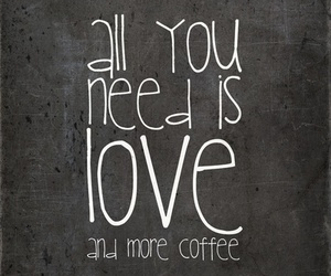 coffee, words, and quote image