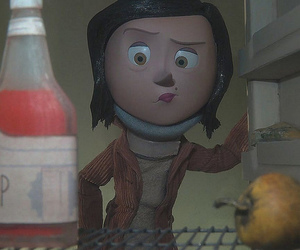 coraline, mel, and mother image