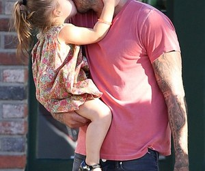 David Beckham, harper, and kiss image