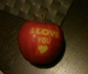 apfel, apple, and I Love You image