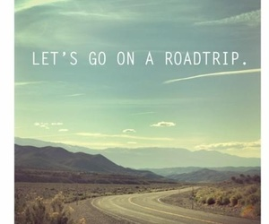 road, trip, and wanderlust image