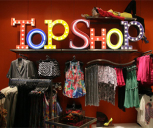 fashion, store, and topshop image