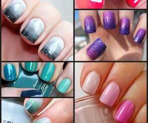 color, nail, and girl image