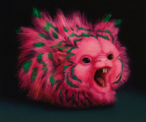 art, pink, and creature image