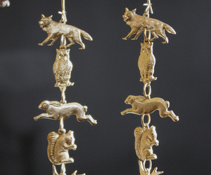 earrings and totem image