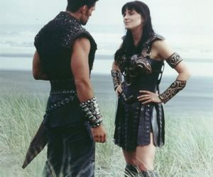 ares, xena, and warrior image
