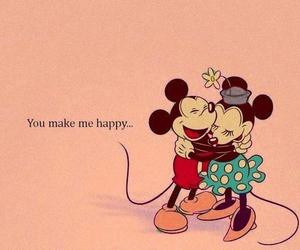 love, happy, and disney image