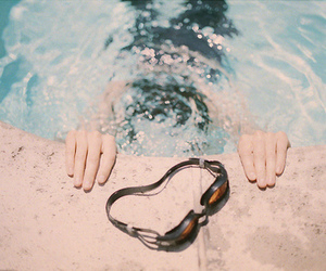 pool, swimming, and water image