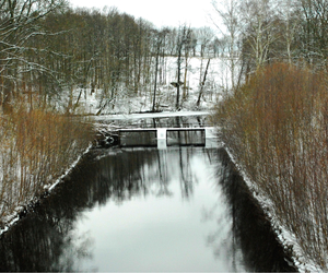 nature, winter, and sweden image