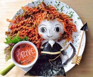 brave, food, and disney image